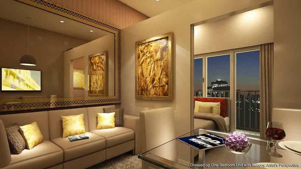 1 - Bedroom Unit with Balcony