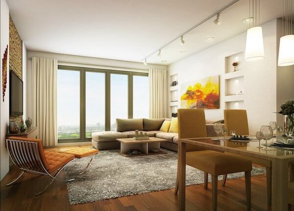 2BR Living Dining