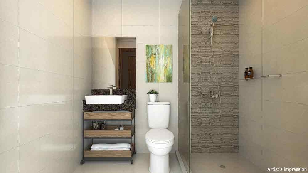 Two Bedroom Bathroom