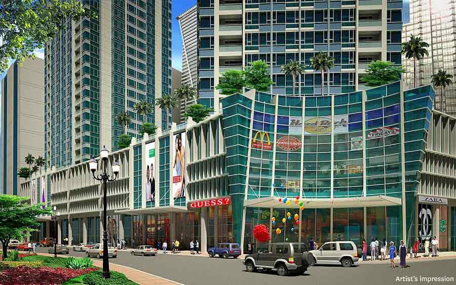 Mall Podium Facade