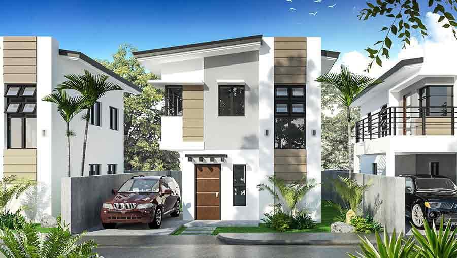 Bridgette model house