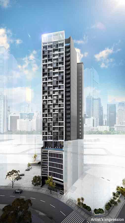 Building Facade - Day View
