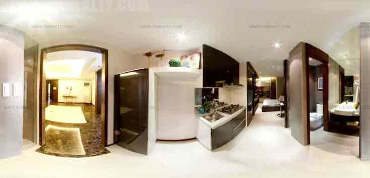 Pre Studio Type - 1 Kitchen & Bathroom