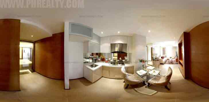 Pre Two-Bedroom Unit 1 - Kitchen & Dining Area