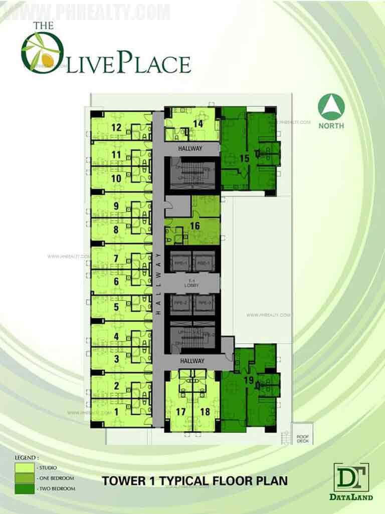 Typical Residential Floor Plan