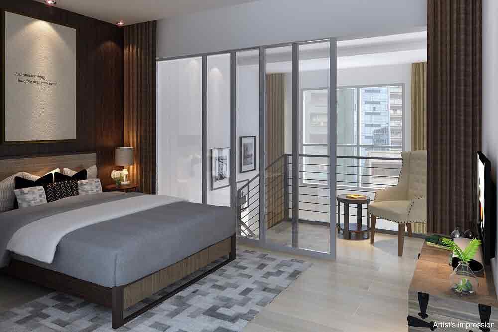 Studio Loft - Bedroom