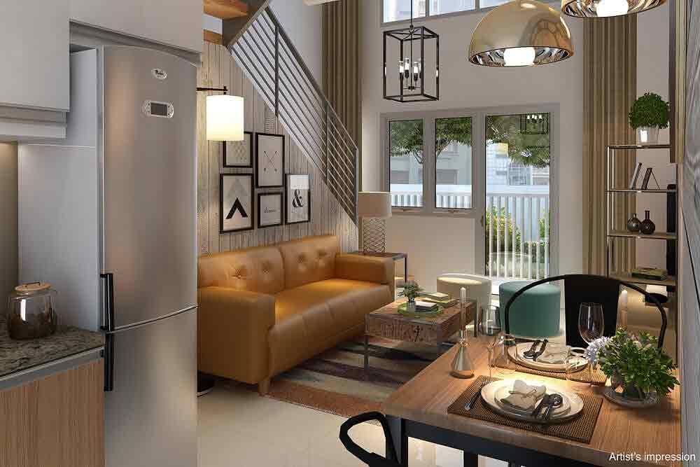 Studio Loft - Living and Dining Area