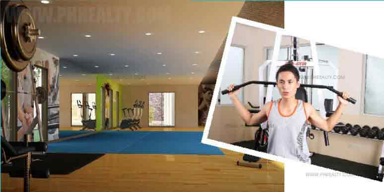 Aerobics and Gym Facility