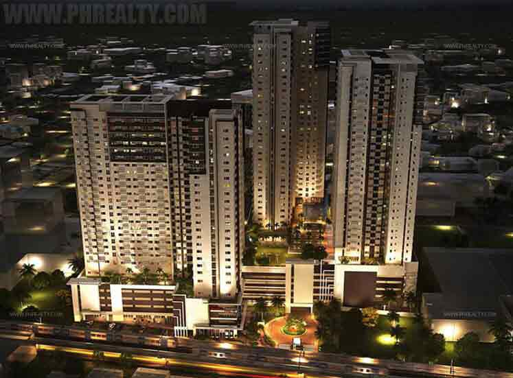 Avida Towers Prime Taft Night View