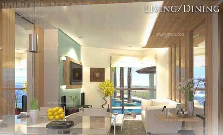Grand Riviera Suites - Living Dining