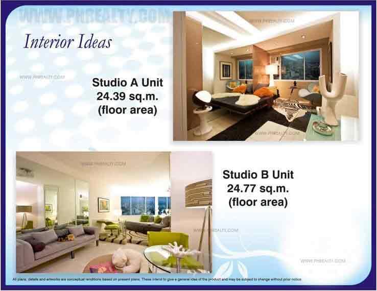Studio Unit Interior