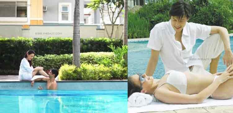 Lap Pool, Wading Pool, Lounge