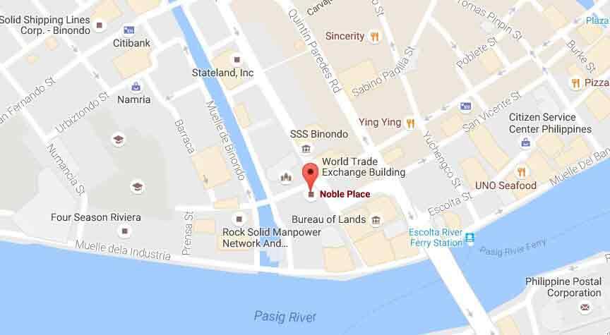 Noble Place Megaworld Condo For Sale In Binondo Manila