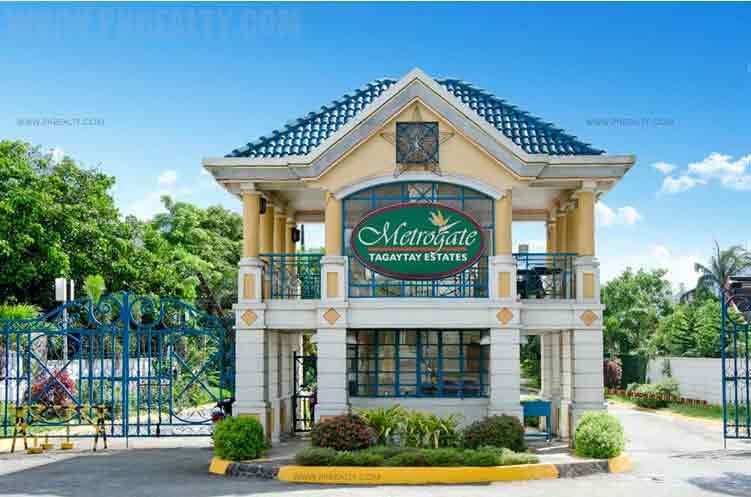 Metrogate Tagaytay Estates Gate