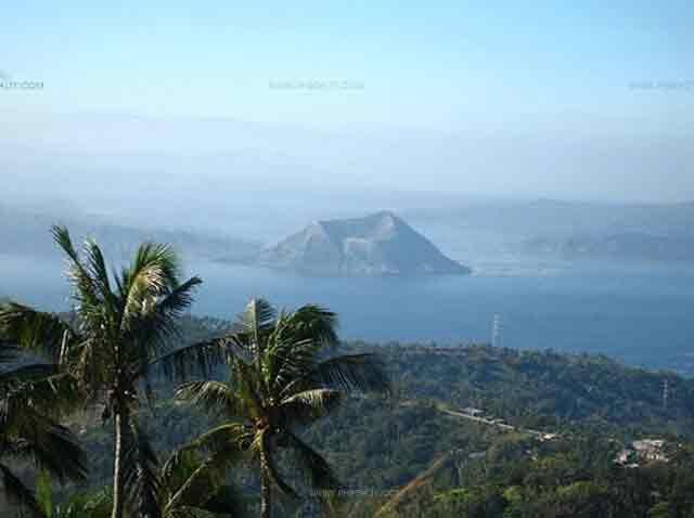 View at Taal Volcano
