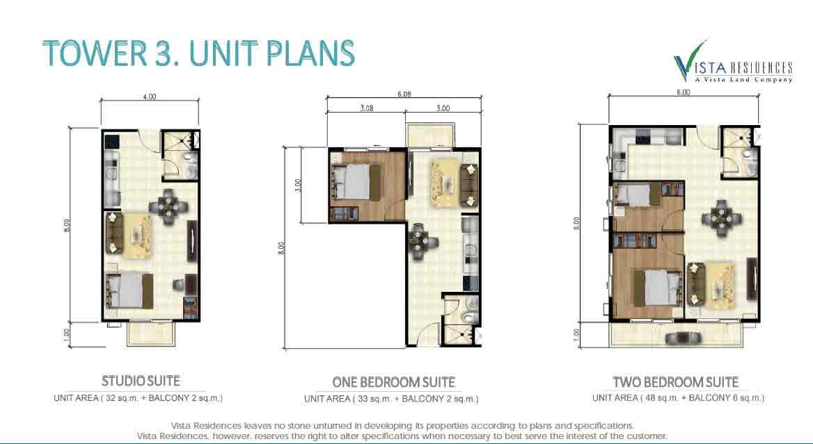 Tower 3 Floor Plan Photo Gallery Of Vista Residences Costa