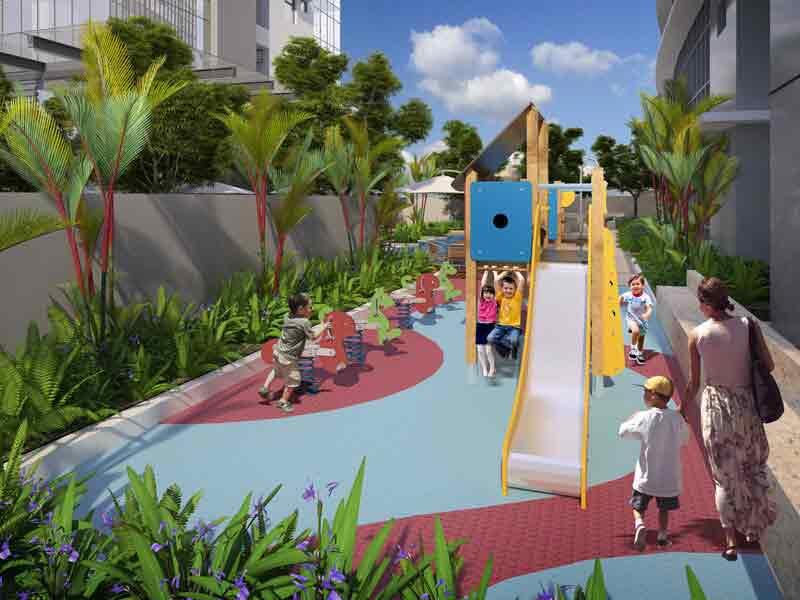 Tower 2 Children Playground