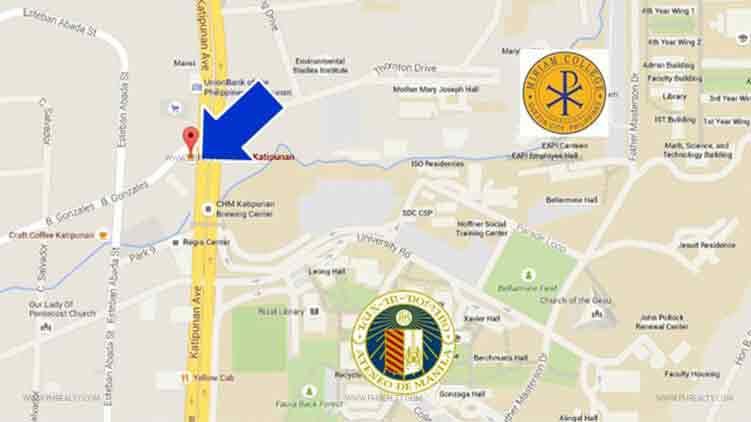 Vista Pointe - Location Map